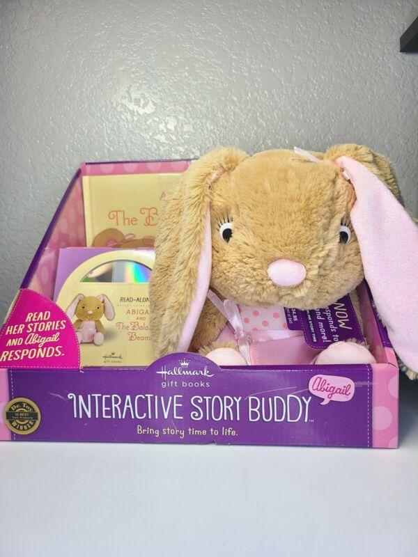 Hallmark Abigail Interactive Storybook Abigail & the Balance Beam Book,CD Bunny