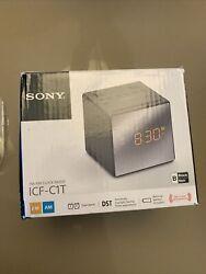 Sony ICF-C1T AM/FM Dual Alarm Clock Radio ICFC1T FM/AM Clock Radio