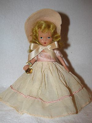 Sweet Face Vintage Bisque Nancy Ann Story Book Doll Little Bo Peep?
