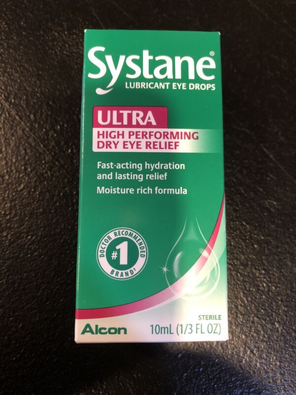 New 10ml Systane Ultra High Performance Dry Eye Relief Drops Exp:06/2021+