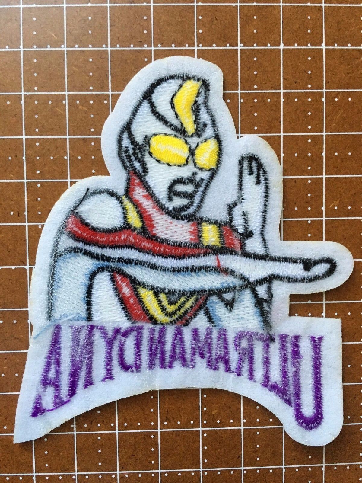 """UltraMan Dyna  Cartoon 3.5/"""" Embroidered Patch FREE S/&H"""