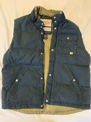 Abercrombie & Fitch Puffer Vest Mens Large L Vintage Old School