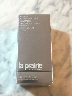 Radiance Emulsion (LA PRAIRIE Cellular Radiance Emulsion SPF 30 - Brand New In Sealed Box)