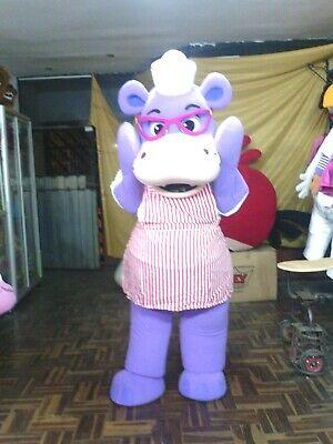 Hallie of Doc McStuffins Purple Hippopotamus Mascot Costume - Doc Mcstuffins Hallie Halloween