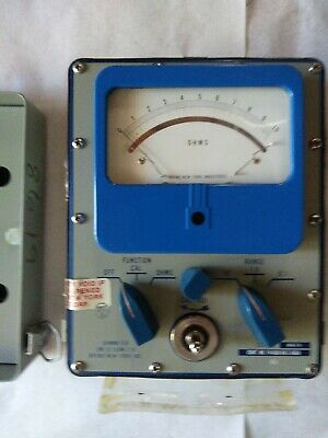 U.s.military Multimeter Voltage Ohm Meter Ohmmeter Ham Radio Tester Vintage