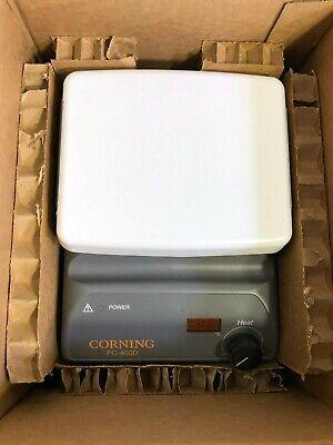 New - Corning Pc-400d Hot Plate 5 X 7 120v Heater Warranty