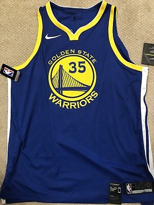 7fc12f9fc95b4 Used, NIKE KEVIN DURANT GOLDEN STATE WARRIORS AUTH