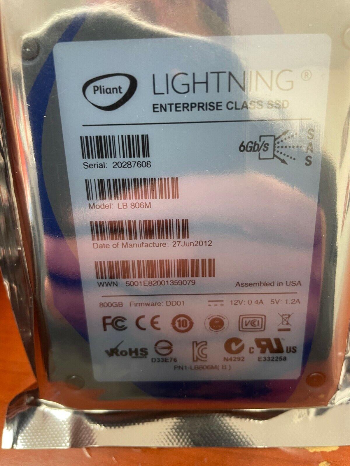 SanDisk Lightning 800GB MLC SAS 6Gbps Mixed Use LB806M  - $99.00