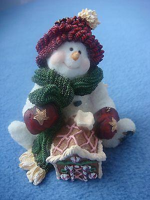 "Boyds Snow Dooodes ""Pudge...Home Sweet Home"" Figurine, 2E/3762, Style #36525"
