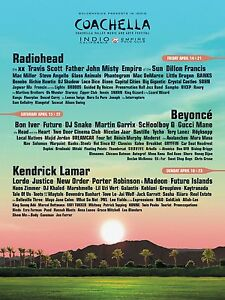 2x 2017 Coachella Travel Package Tickets - Weekend 2 - Accom+Trav Rose Bay Eastern Suburbs Preview