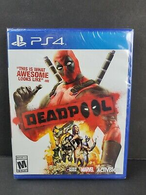 Deadpool Dead Pool (Sony PlayStation 4, 2015) PS4 Marvel Game BRAND NEW SEALED