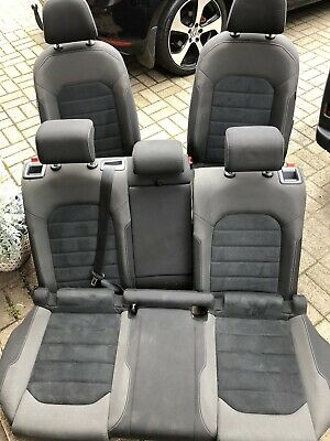 Golf Mk7 Alcantara Suede Car Seat front passenger OR Rear 2014 2015 2016 2017