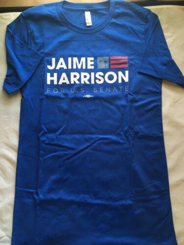 JAIME HARRISON FOR US SENATE T SHIRT DEMOCRAT KAMALA BIDEN 2020 ELECTION SMALL