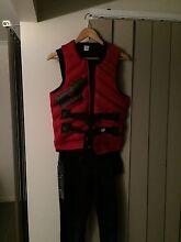 Jet pilot JetSki Clothing. Wetsuit, shoes, vest, jacket Loganlea Logan Area Preview