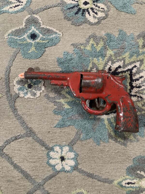 Vintage Japan Tin Litho Toy Gun Colt Cowboy