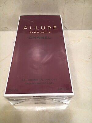 - Allure Sensuell by Chanel Creamy Shower Gel for Men 6.8 fl oz NIB Sealed