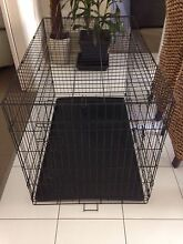 Collapsible X Large Dog Cage + New Canvas Cover Bray Park Pine Rivers Area Preview
