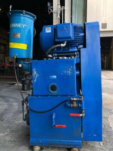 Kinney KT-300D Vacuum Pump Serial Number: 155446 0708