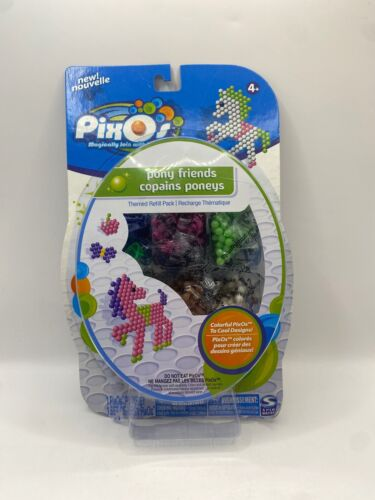 Pixos Themed Refill Pack Pony Friends Beads Magically Join w/ Water New