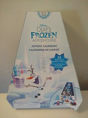 *ripped box* Disney Frozen Advent Calendar Olaf Adventure Figures Christmas