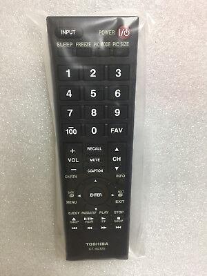 new genuine Toshiba TV Remote Control CT-90325 32C100U2 32C100UM 32C110U 32DT1