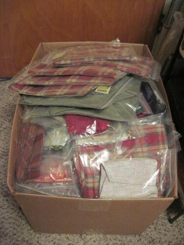 Longaberger Fabric Basket Liners Random Lot of 50 New in pkg