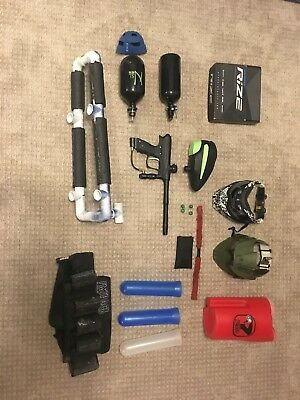 speedball paintball lot & gear best pro end paintball gear