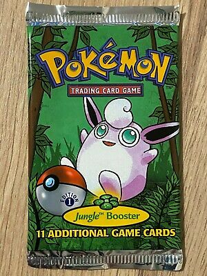 1st Edition Jungle Factory Sealed Pokemon Booster Box Pack Artwork Design 2