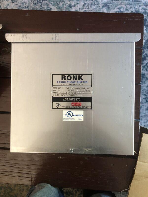 Ronk Phase Shifter 5HP 480V