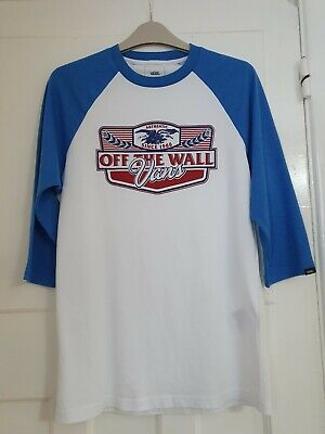 VANS Off The Wall Skaters Top Size Small