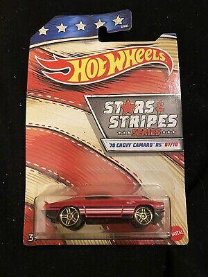 2020 Hot Wheels Stars & Stripes #7 '70 Chevy Camaro RS New Near Mint