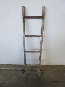 D8088 Vintage Industrial Timber Ladder Mount Barker Mount Barker Area Preview