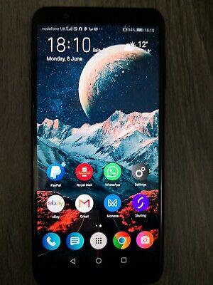 Huawei P Smart 2018 Phone in Black, 32GB, Single Sim, UNLOCKED