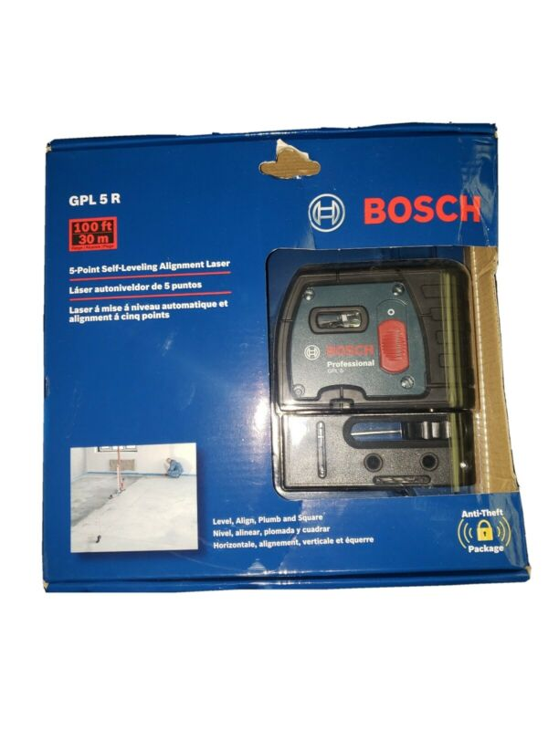 Bosch - 5-Point Self-Leveling Alignment Laser GPL 5 R ( LOT 2885)