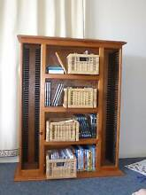 Timber CD and DVD unit Morningside Brisbane South East Preview