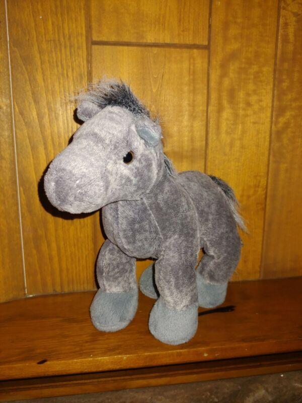 Webkinz Grey Arabian Horse Plush Stuffed Animal HM098 Ganz NO CODE