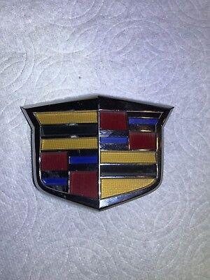 2013-2015 Cadillac XTS Front Bumper Grille-Emblem Badge Nameplate 22782410 OEM