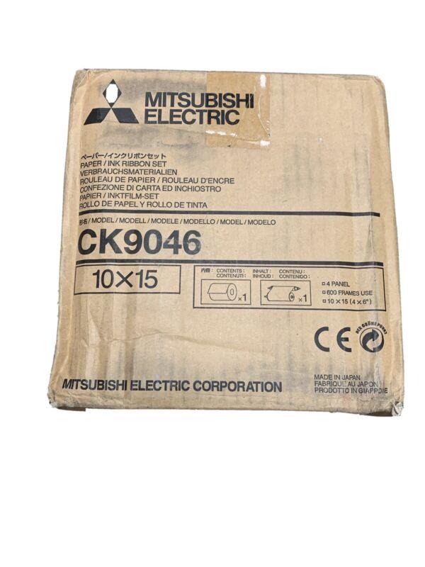 mitsubishi CK9046 4x6 Media Kit 600 Prints