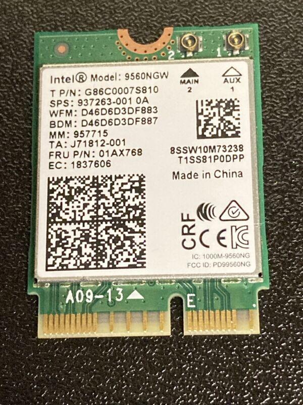 Wireless AC 9560 Intel 9560NGW 802.11ac NGFF 2.4G/5G WiFi Bluetooth L22634-005