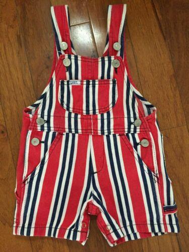 Lee Vintage Toddler Bib Overalls Shorts 18M Union Made