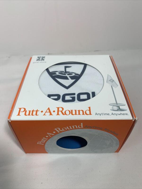 Anne Stone Golf Putt-A-Round Blue Birdie Flag 1 Putting Aid