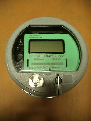 Elster Electric Watthour Meter Direct Read 4 Wire 120-480v Cl320 Zq3400g000-st