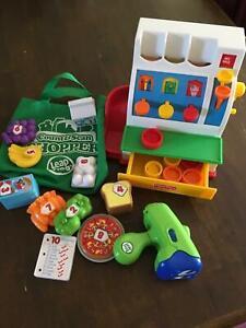 Fisher Price Cash Register & Leap Frog Shopping Scanner | Toys