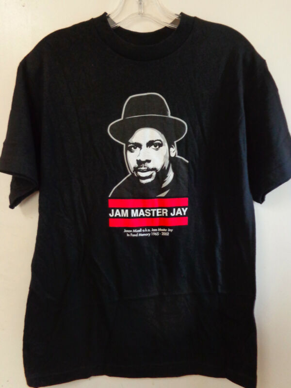JAM MASTER JAY Memorial Shirt RUN DMC Medium