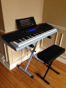 Digital piano keyboard
