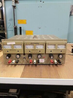 Lambda Lpt-7202-fm Regulated Triple Output Power Supply