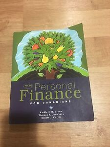 Personal finance for canadians sixth edition