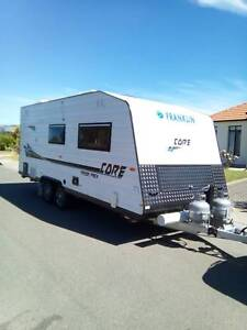 FOR HIRE 2 Berth caravan