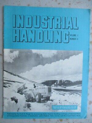 Industrial Handling Brochure/Magazine - Frank Hough Co., 1951