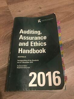 Auditing, Assurance and Ethics Handbook 2016
